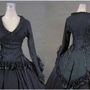 Black Victorian Dresses Ideas Pictures