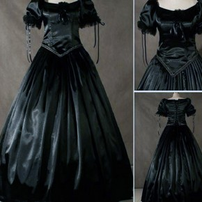 Black Victorian Dresses Mourn Pictures