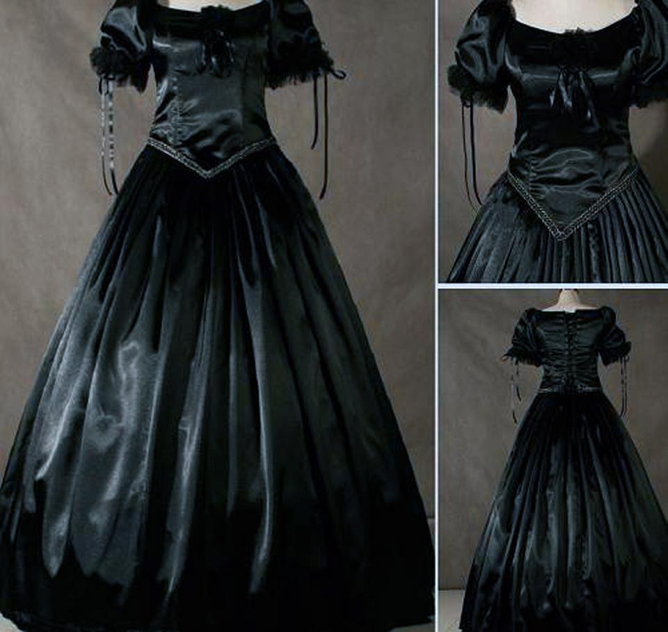 black victorian dresses mourn inofashionstylecom