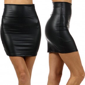 Black Vinyl Mini Skirt Designs Pictures