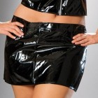 Black Vinyl Mini Skirt Best Pictures