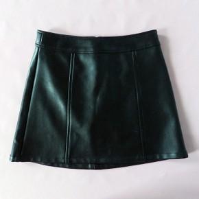 Black Vinyl Mini Skirt Styles Pictures
