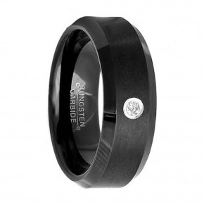 Black Wedding Bands With Diamonds Pictures