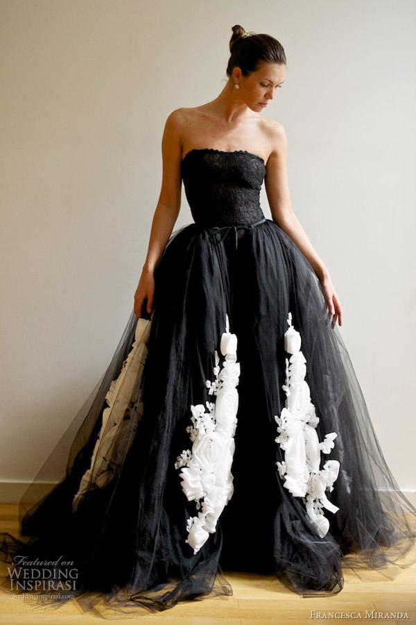 Black Wedding Dresses Dark Are You Ready