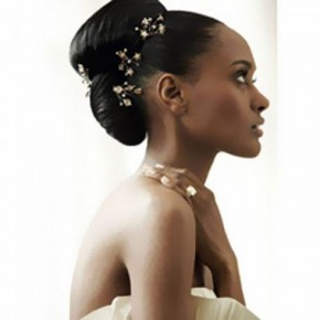 Black Wedding Hairstyles For Long Hair Pictures