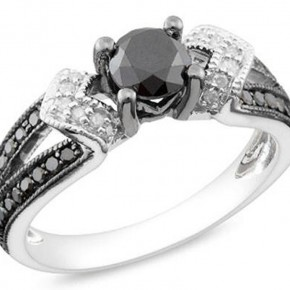Black Wedding Rings For Women Ideas Pictures