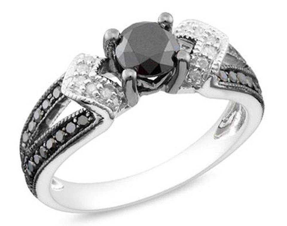 Black Wedding Rings For Women Ideas - Inofashionstyle.com
