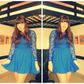 Blue Dress Outfit Lace Pictures