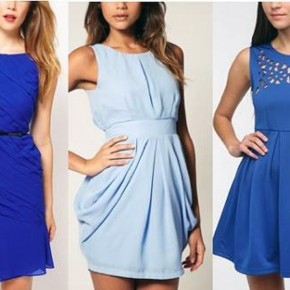 Blue Dress Outfit Polyvore Pictures