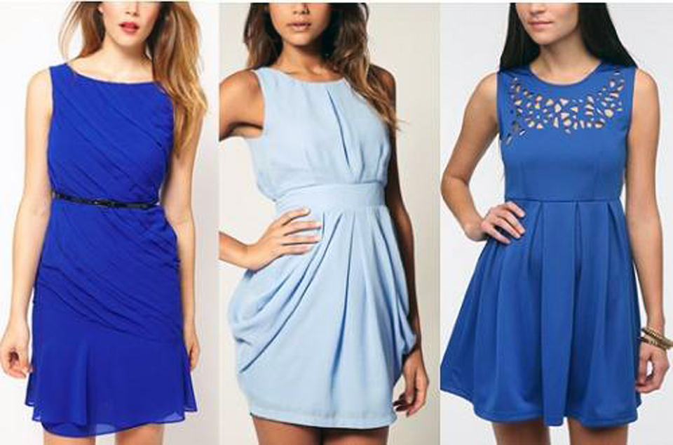 Blue Dress Outfit Polyvore