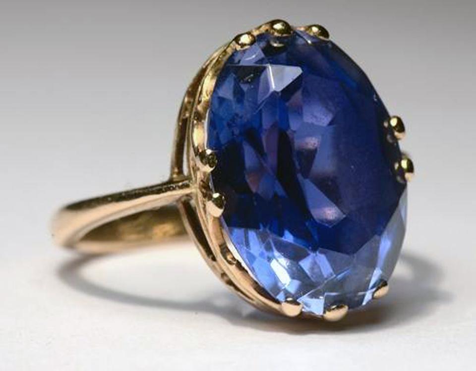 Blue Sapphire Rings For Men 2013