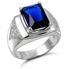 Blue Sapphire Rings For Men Ideas Pictures