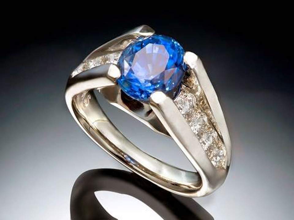 Blue Sapphire Rings For Men Images