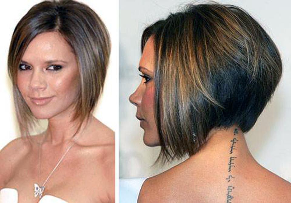 Bob Haircut Tapered Back Styles