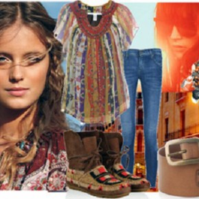 Bohemian Clothing Style For Women Pictures