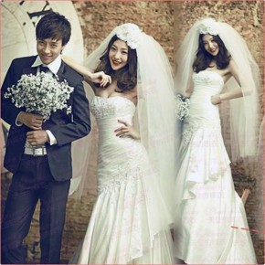 Bridal Dresses Princess Style Images Pictures