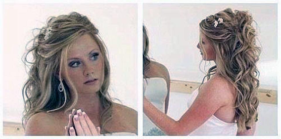 Bridal Harstyles Long Hair Half Up Models