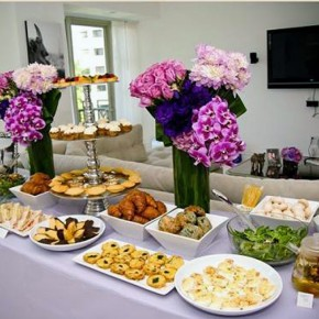 Bridal Shower Food Display Pictures