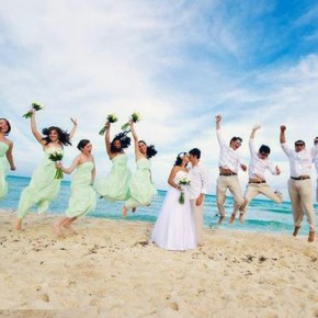 Bridesmaid Dresses Beach Wedding 2013 Pictures