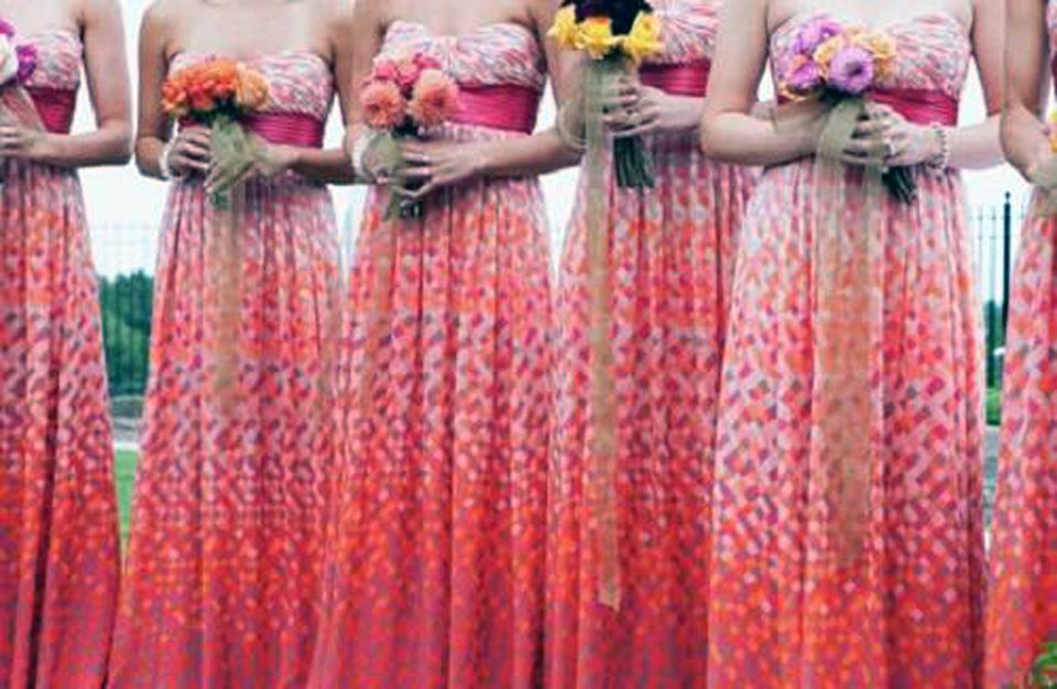 Bridesmaid Dresses Beach Wedding Concept