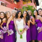 Bridesmaid Dresses Beach Wedding Purple Pictures