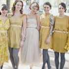 Bridesmaids Vintage Dresses Pictures