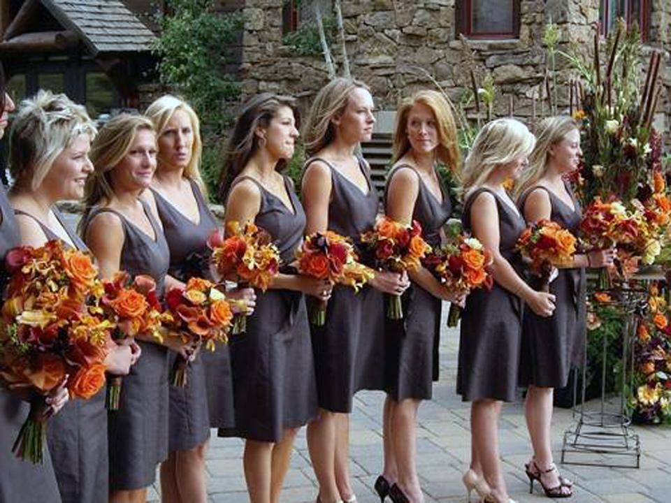 Brown Bridesmaid Dresses Under 100
