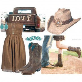 Brown Country Dresses For Women Pictures