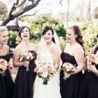 Brown Country Dresses In Wedding Pictures