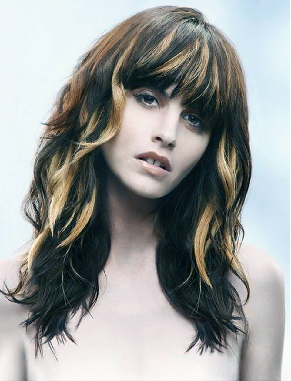 Brown Hair With Blonde Highlights Tumblr