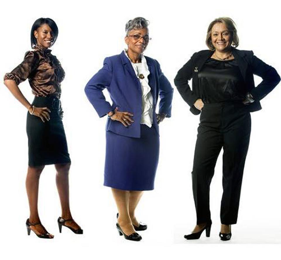 Business Women Dress Up