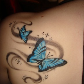 Butterfly Tattoos For Girls And Women Pictures