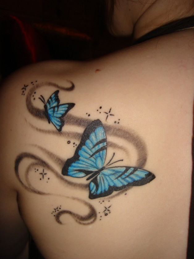 Butterfly Tattoos For Girls And Women