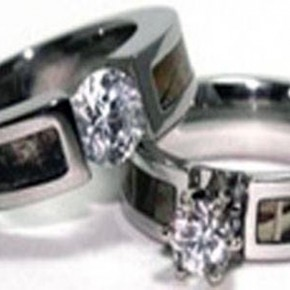 Camo Diamond Wedding Band Styles Pictures