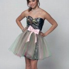 Camo Grad Dress Ideas Pictures