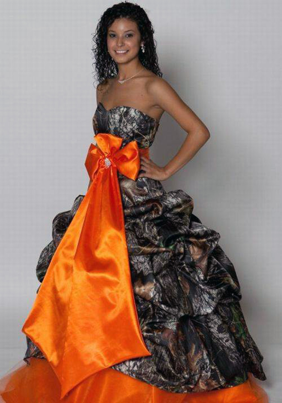 Camo Grad Dress Images