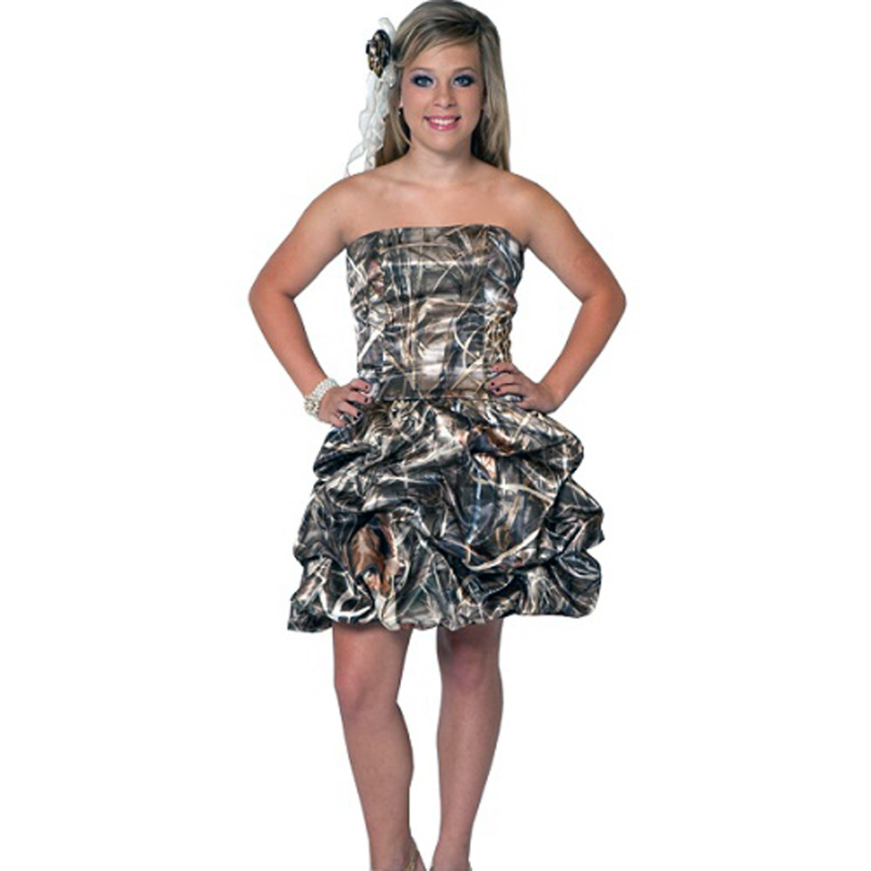 Camo Prom Dresses 2013 Photos