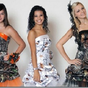 Camo Prom Dresses 2013 Short Pictures