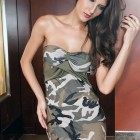 Camouflage Mini Dresses Images Pictures