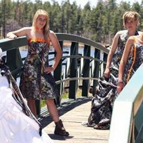 Camouflage Wedding Dresses For Cheap Pictures