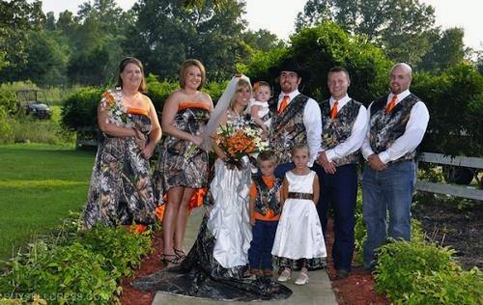 Camouflage Wedding Dresses Plus Size - Inofashionstyle.com