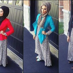 Cheetah Dresses For Teenagers Hijab Pictures