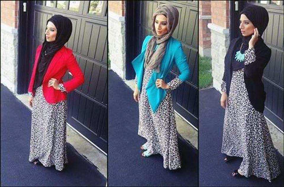 Cheetah Dresses For Teenagers Hijab