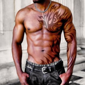 Chest Tattoo Designs For Masculien Men Pictures