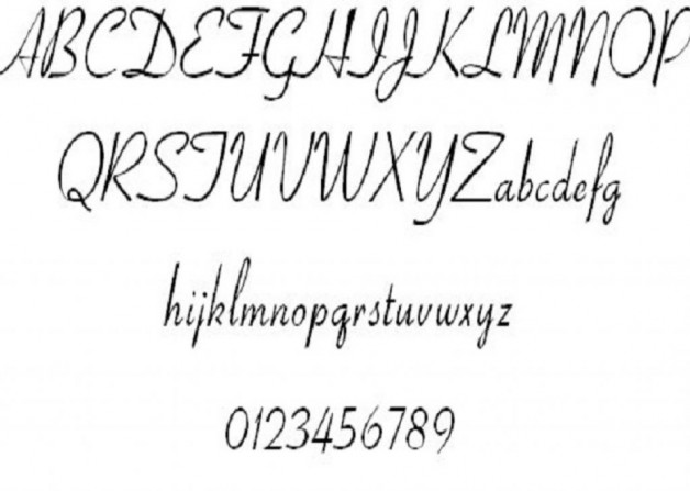 Chic Aspire Font Cursive Tattoo Ideas