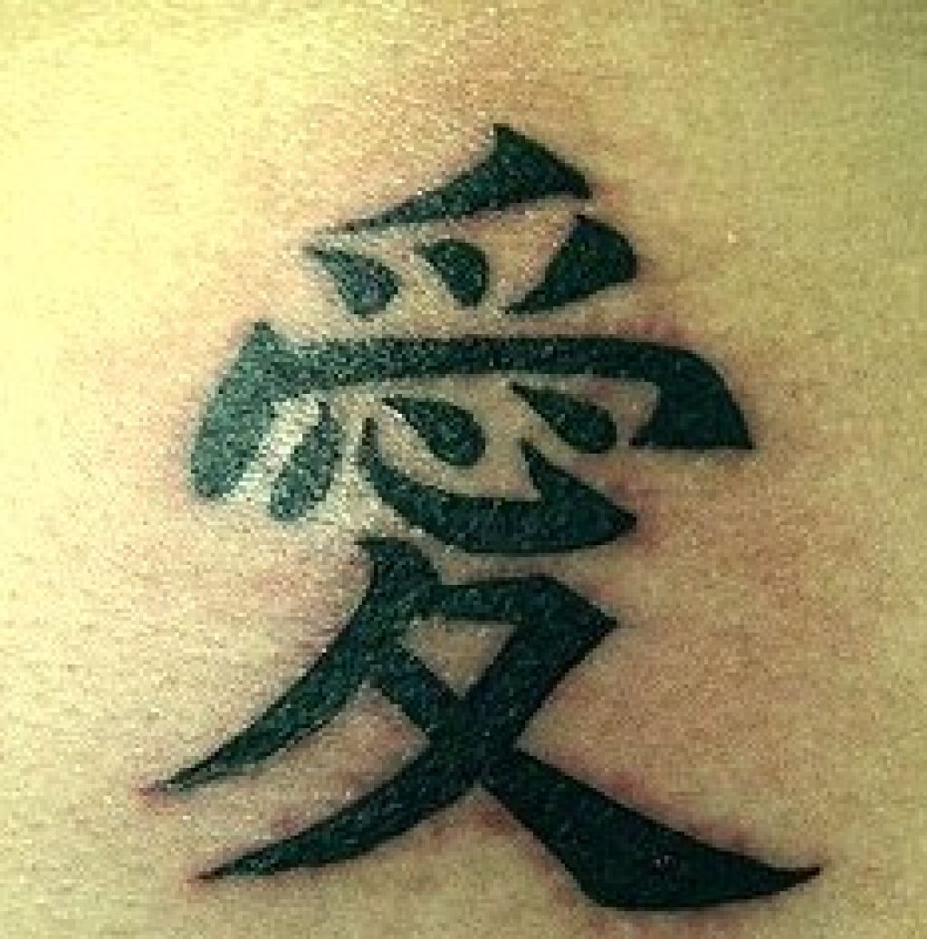 Chinese Tattoo Designs And Meanings Pictures