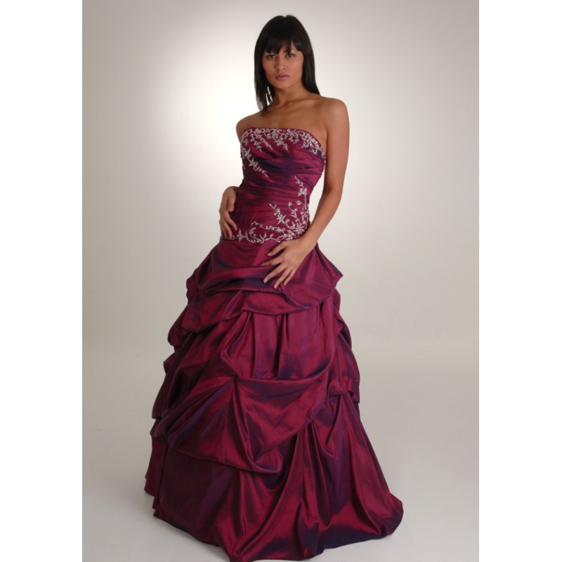 Colored Wedding Dresses Colored Fuchsia Corset Spring