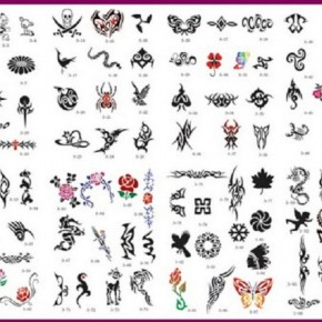 Cool Airbrush Tattoo Stencils Pictures
