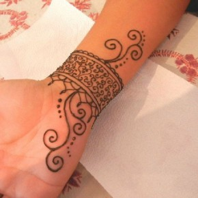 Cool Henna Tattoo Ideas For Wrist Pictures