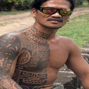 Cool Polynesian Tribal Tattoo Sleeve Pictures
